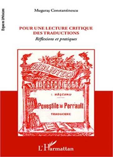 Description: Coperta Pour une lecture critique