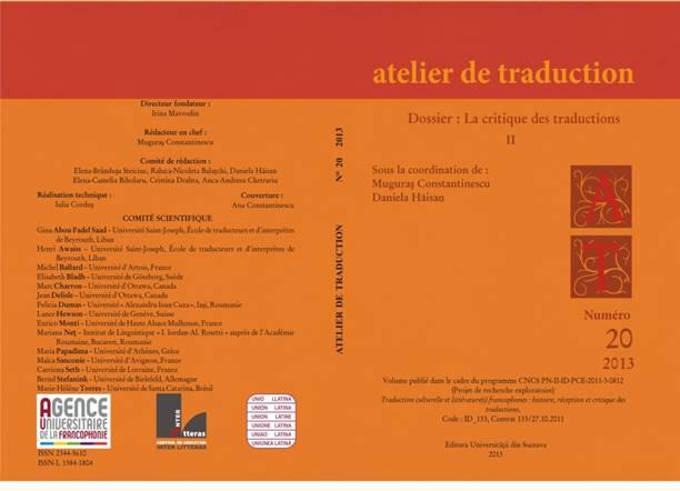 Description: Coperta Atelier 20